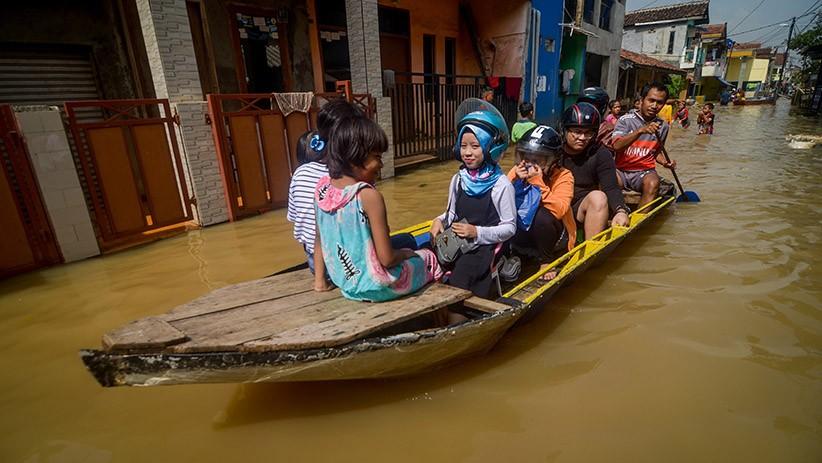 Banjir Rendam Ratusan Rumah di Kabupaten Bandung Sejak Tiga Hari