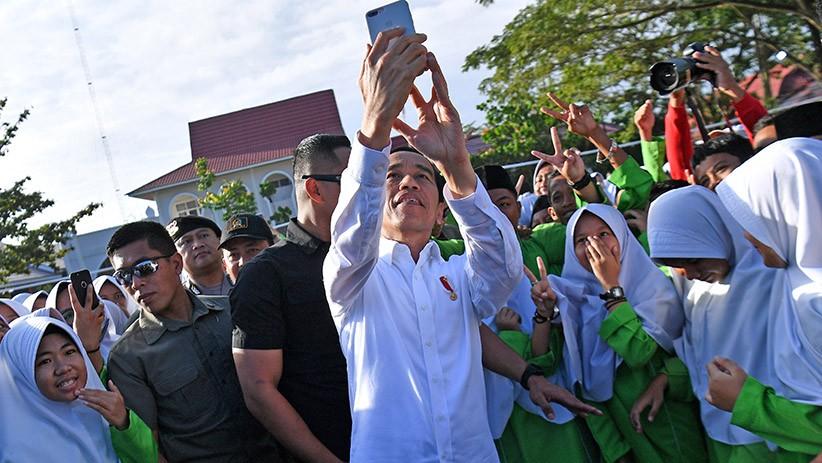 Presiden Jokowi Resmikan Madrasah yang Direhabilitasi dan Renovasi di Pekanbaru