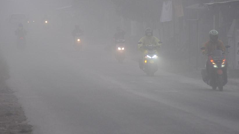 Hujan Abu di Boyolali akibat Erupsi Gunung Merapi, Jarak Pandang Terbatas